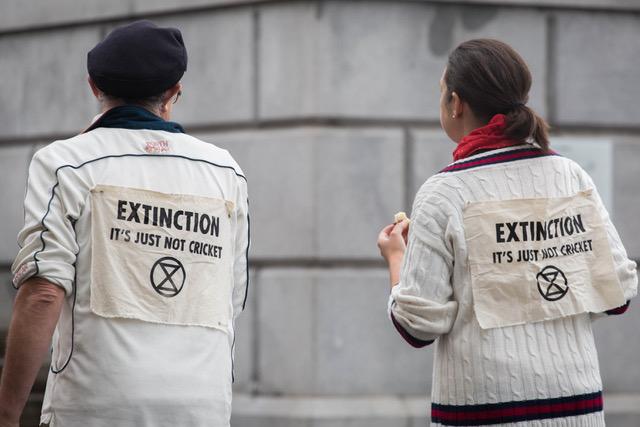 Extinction Rebellion, Trafalgar Square, London, October 2019
